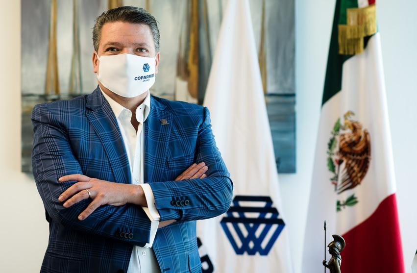 Carlos Villaseñor, presidente de Coparmex Jalisco